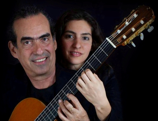Image result for Cuban guitarists Eduardo and Galy Martin,